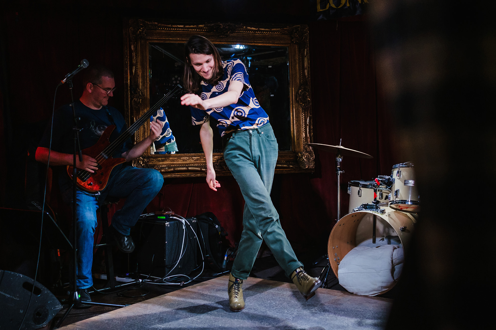 tap dancer on stage in London