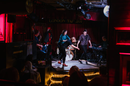 London Tap Jam gigis Bar Hoxton Shoreditch