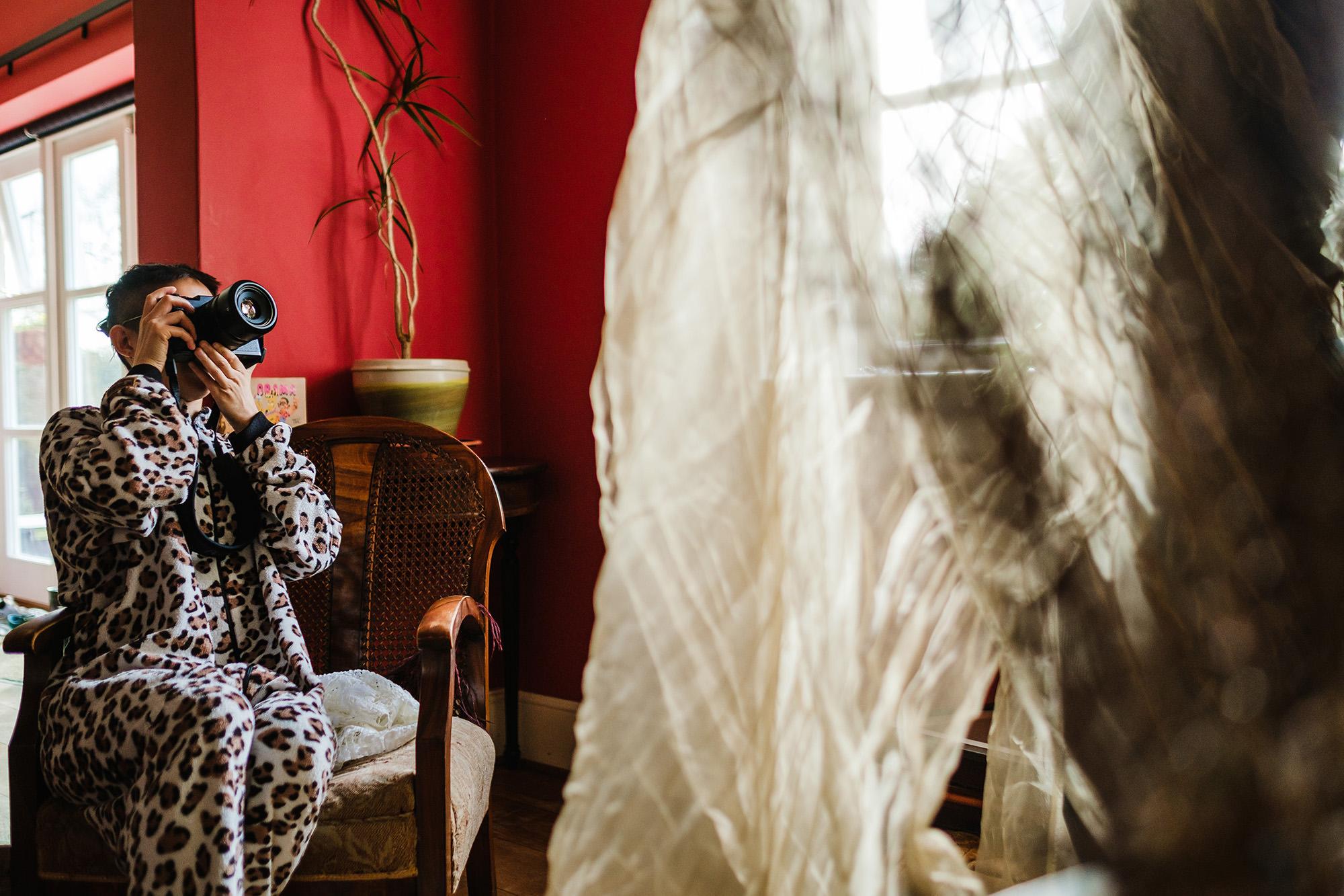 Marianne shooting creative conceptual portrait