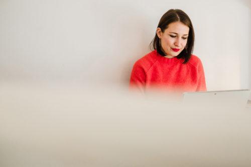 Louisa portrait photography designer illustrator