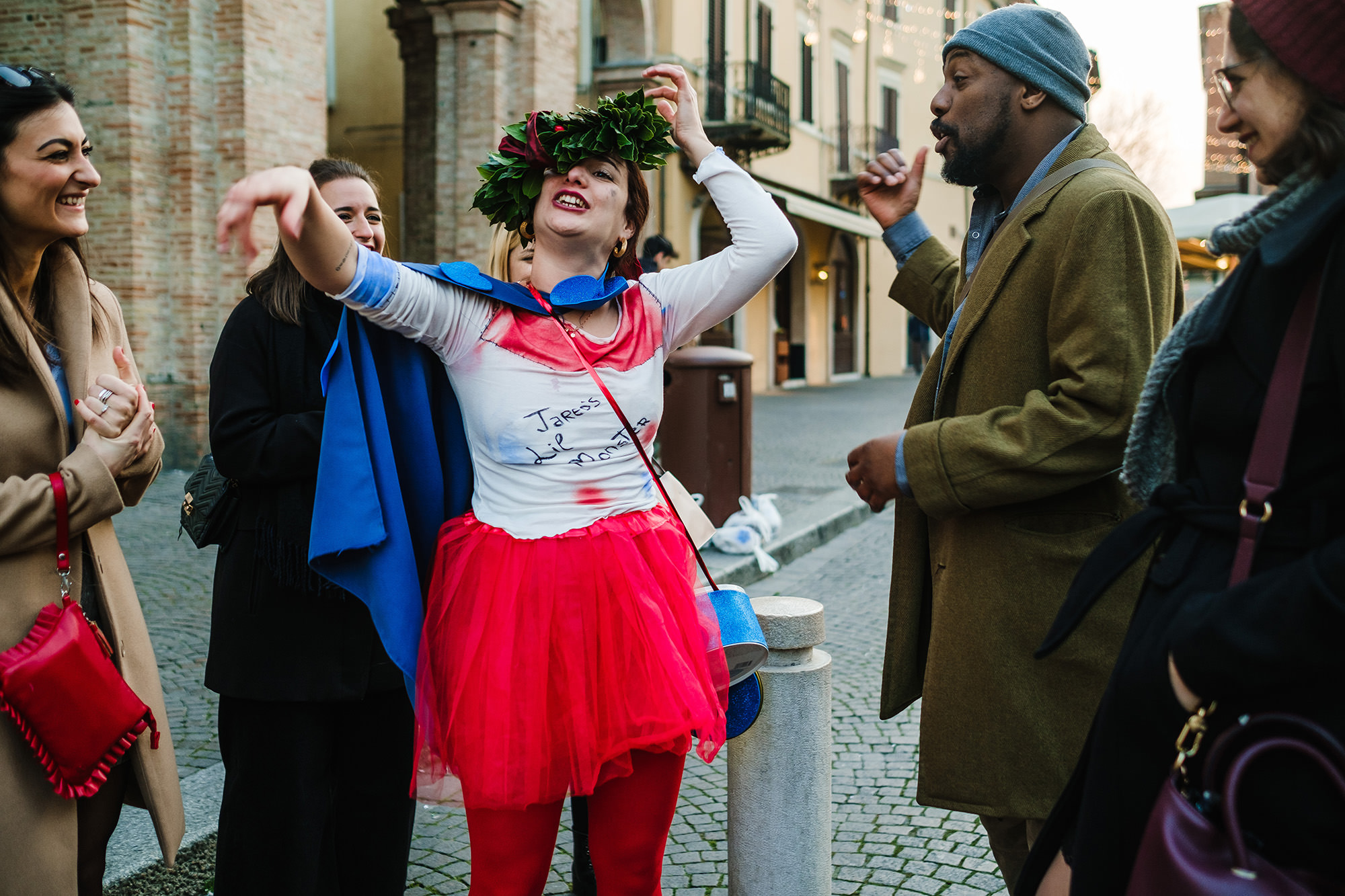 graduation event in italy documenting university life