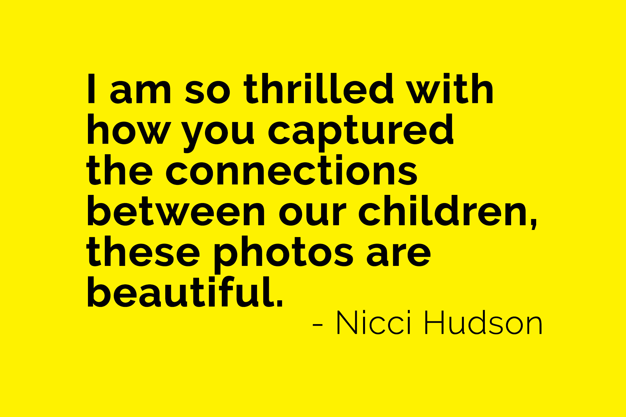 testimonial for family photography