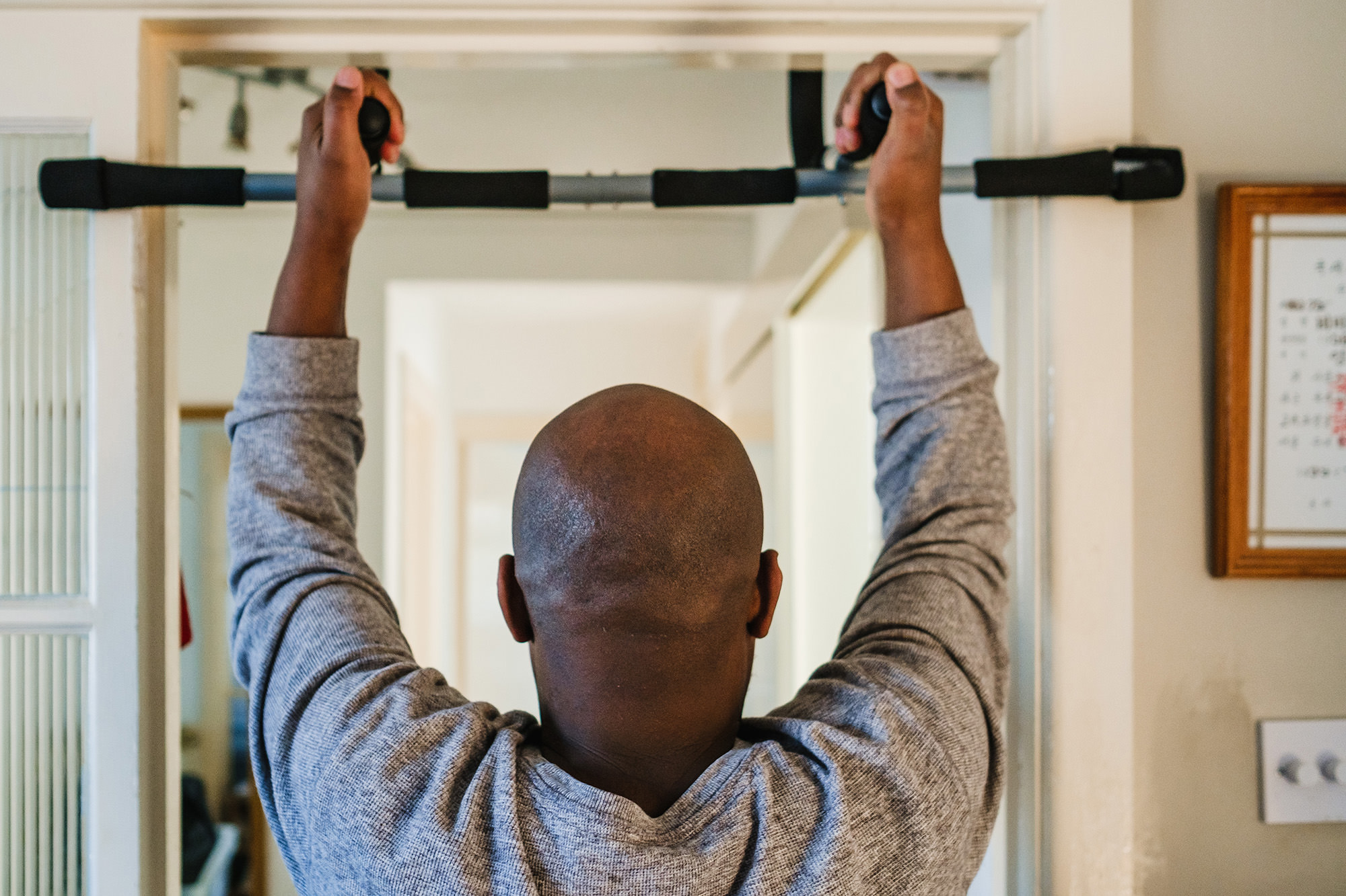 pull up workout excercise