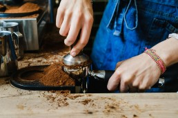 barista at work in Norfolk
