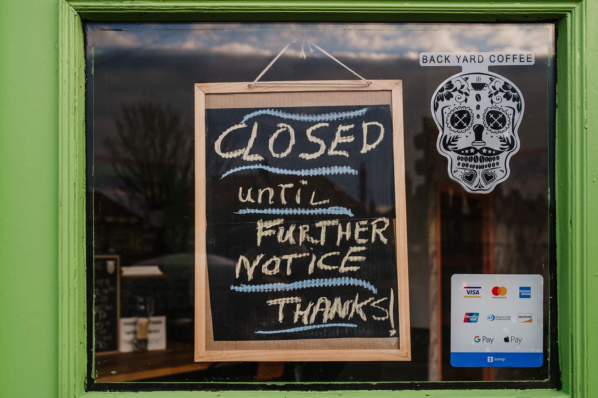 lockdown april store shop worthing