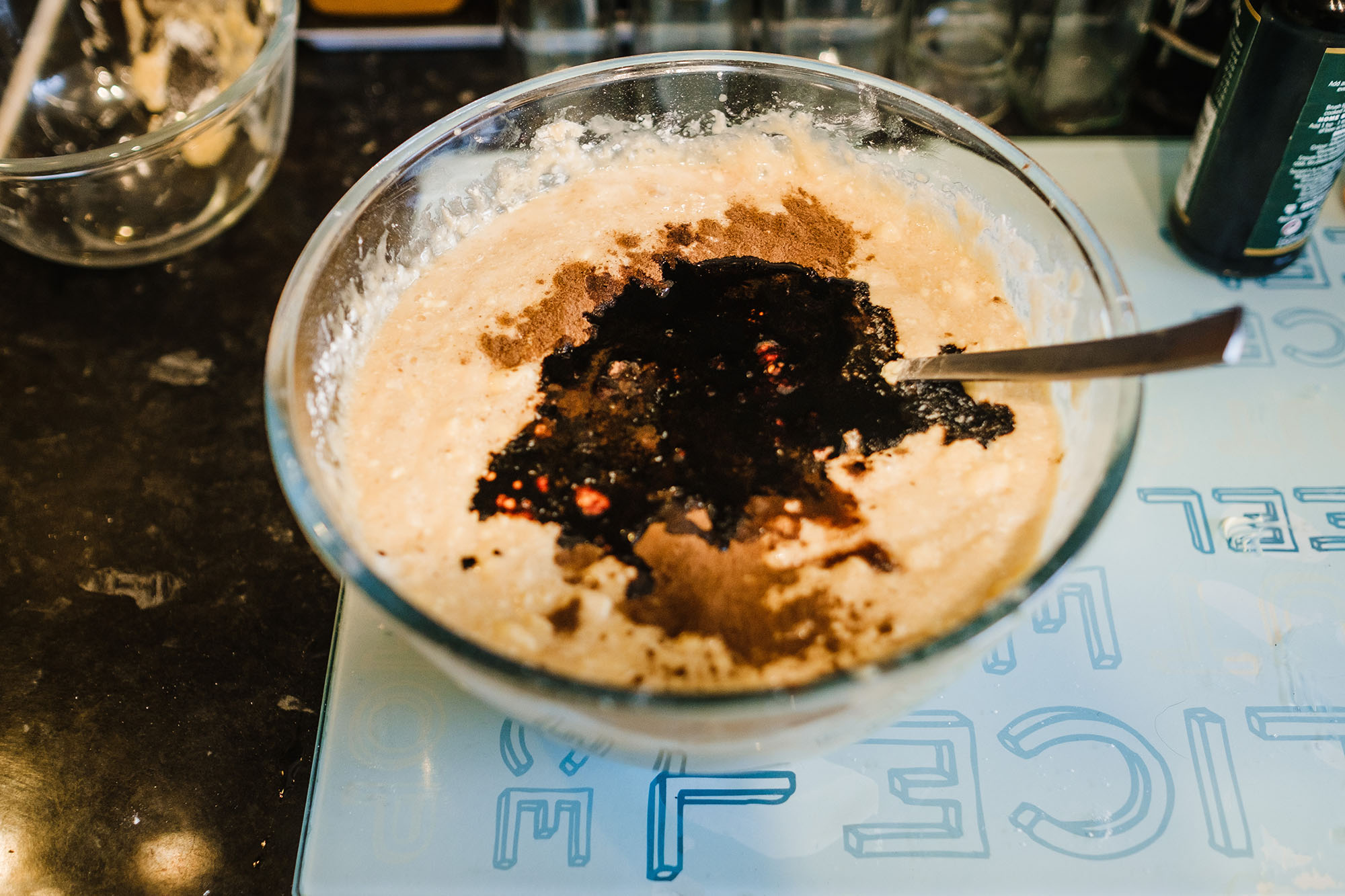 recipe for making rum and fruit cake