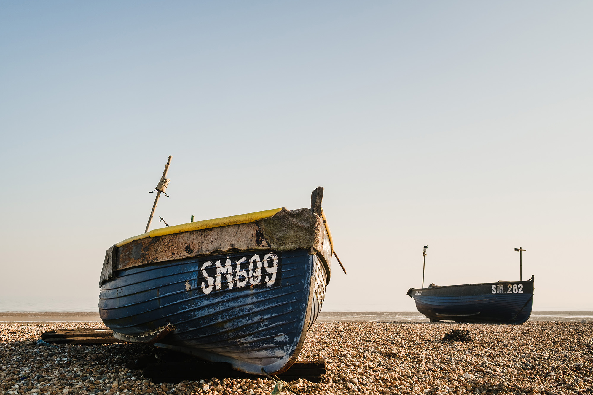 visiting worthing beach boats