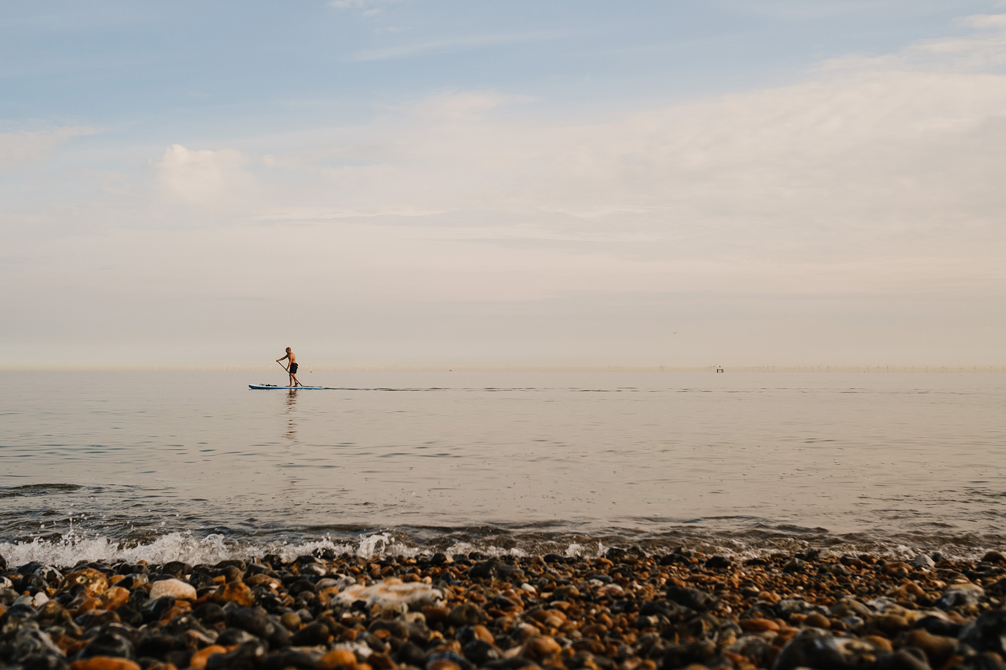 paddleboarding physical distancing