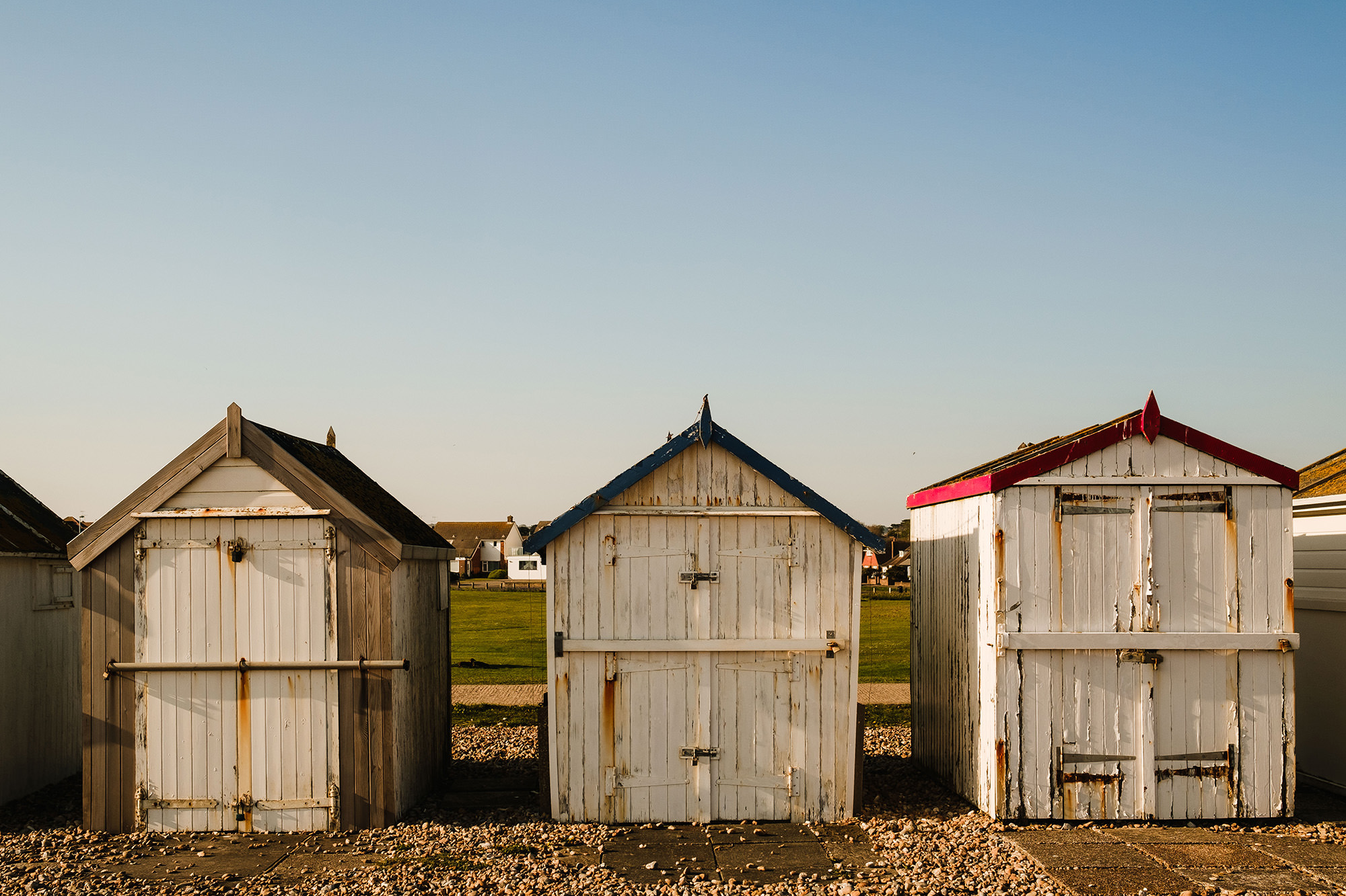 beach huts west sussex physical distancing