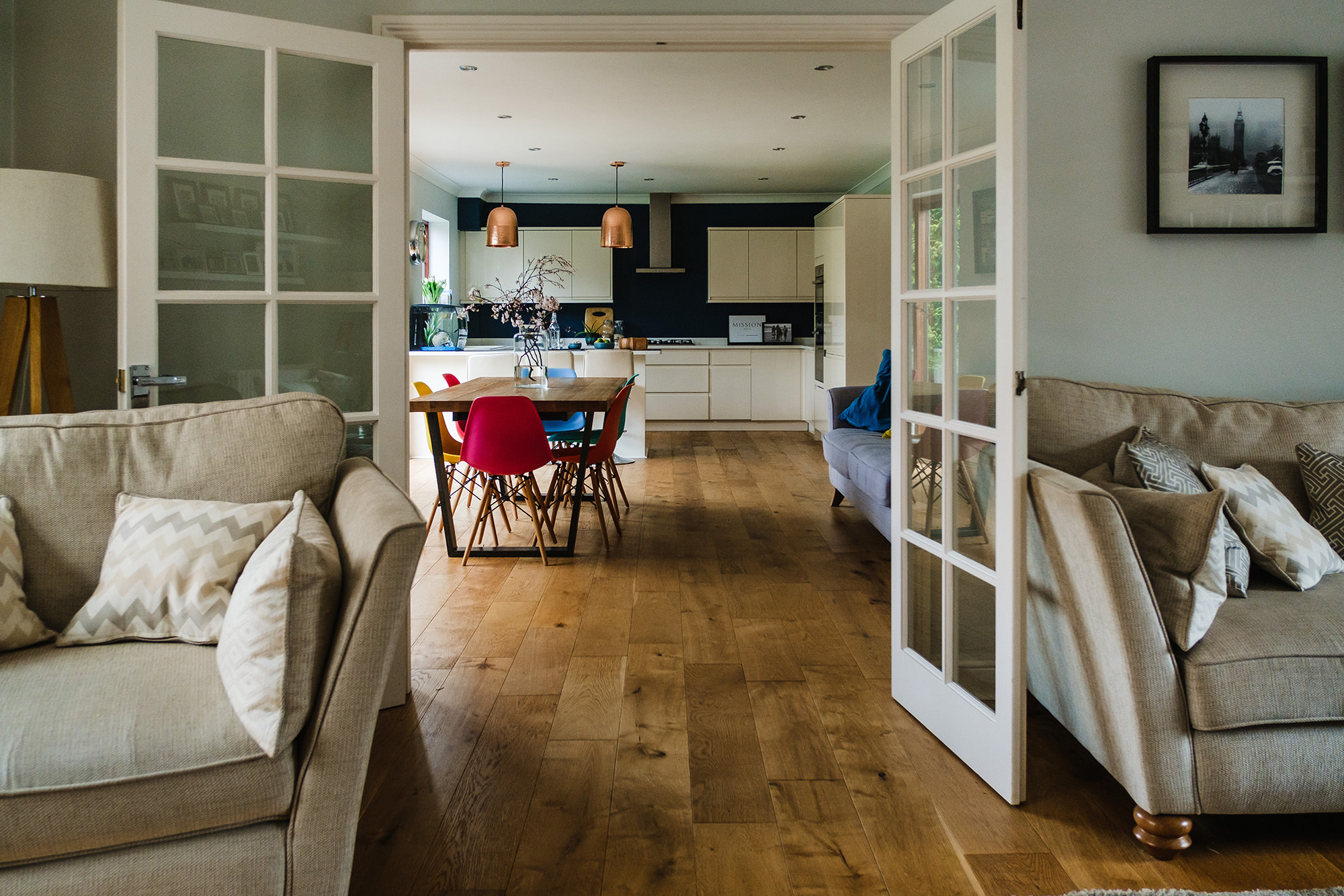 livingroom front room kitchen