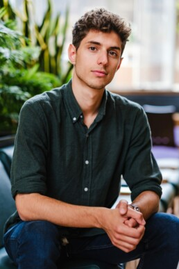 headshot of young entrepreneur brighton sussex