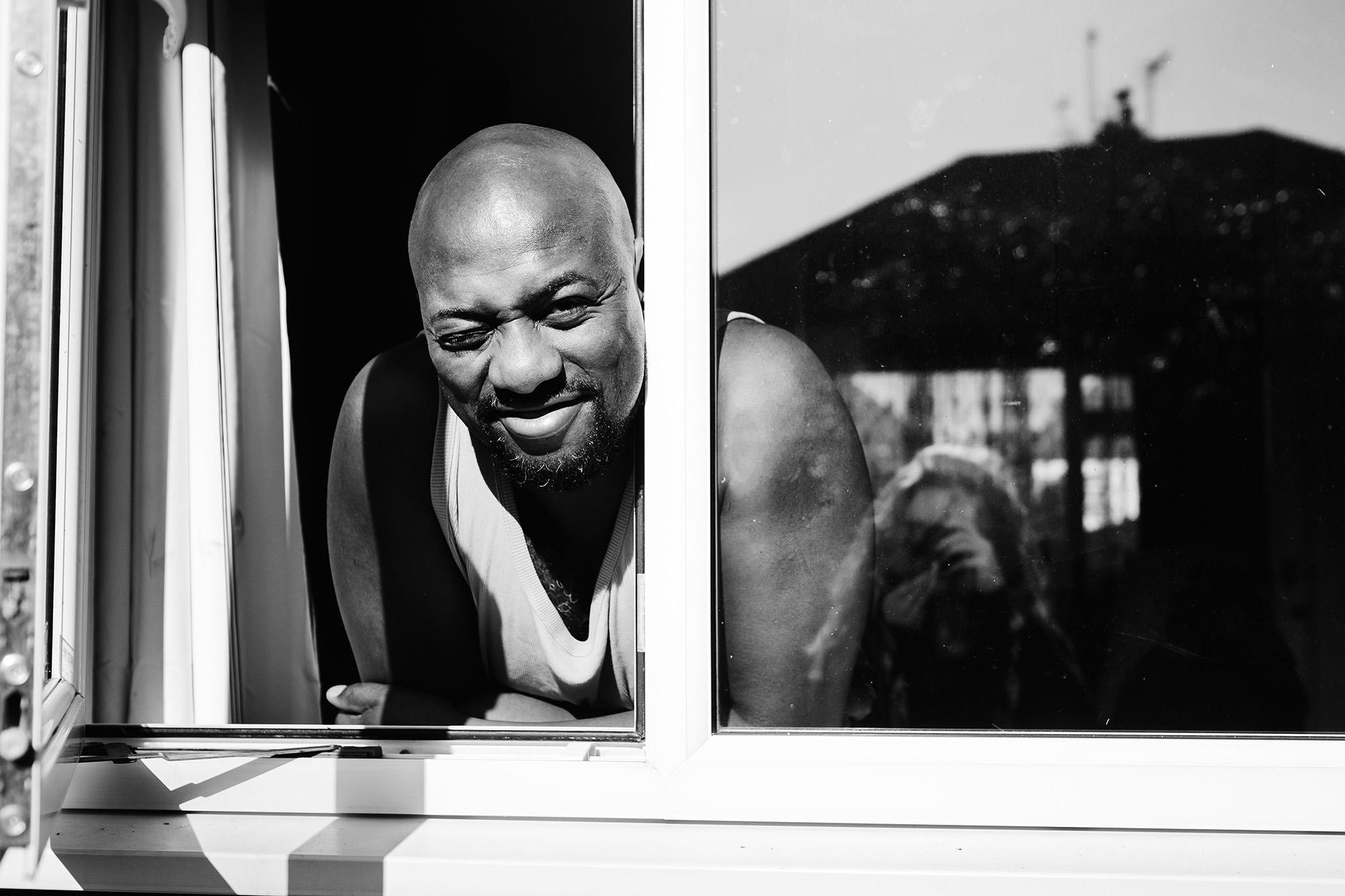 window portrait
