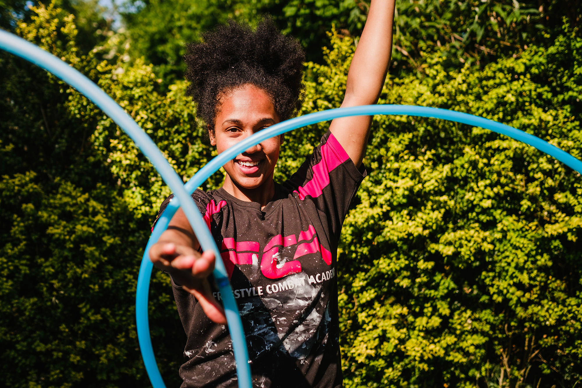 hula hoop lesson with kay