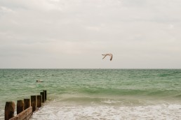 worthing beach june musings