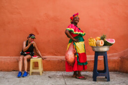 colombia street photography cartagena palenquera