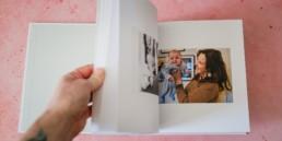 family photo album storytelling book