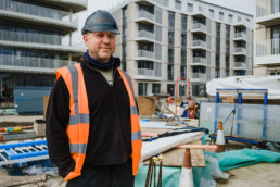 construction site manager worthing exhibition