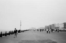 black and white hove promenade hove lawns