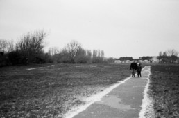 brooklands park in wintre worthing lancing