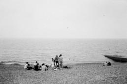 hove beach summer on film