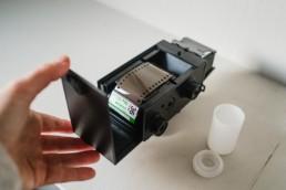 diy film camera loading film