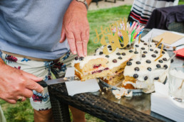 27 birthday cake party